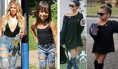 Sno stilen, Familjen Kardashian
