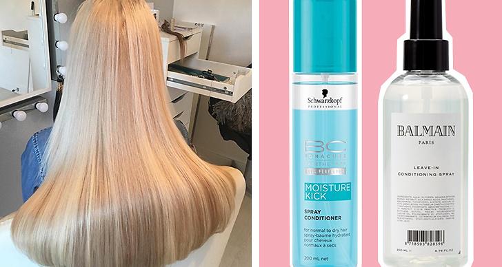 balsamspray för torrt hår