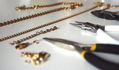 Halsband, DIY, Smycken