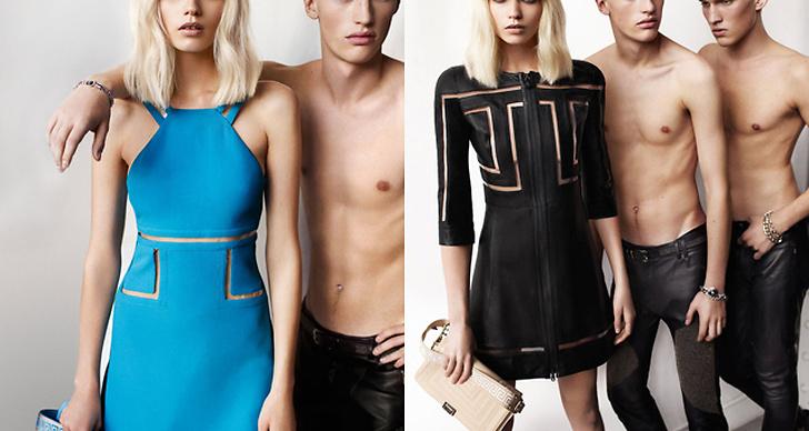 Versace S/S 2011. Foto: Mario Testino. Modell: Abbey Lee Kershaw.