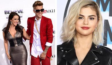 Justin Bieber, Selena Gomez, Pattie Mallette