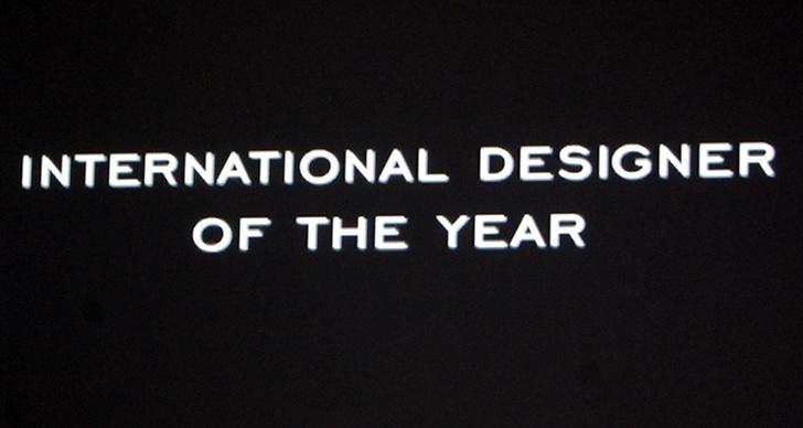 Årets internationella designer:
