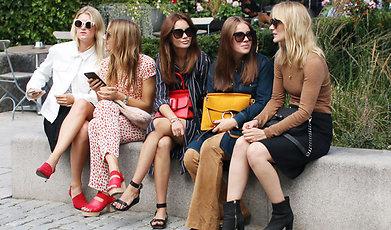 Fanny Lyckman, Kenza Zouiten Subosic, Janni Deler, Stockholm Fashion Week, Stockholm
