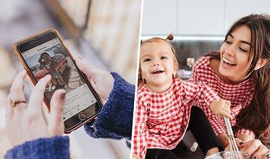 Sociala Medier, Barn