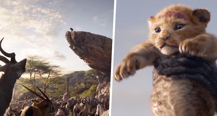 Lejonkungen 2019, trailer, premiär