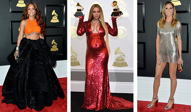 Beyoncé Knowles-Carter, Grammy Awards, solange knowles, Lady Gaga, Demi Lovato, Rihanna, lea michele, Modette, Adele, Katy Perry