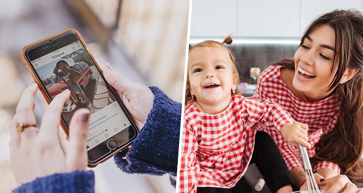 Postar du bilder på ditt barn på sociala medier?