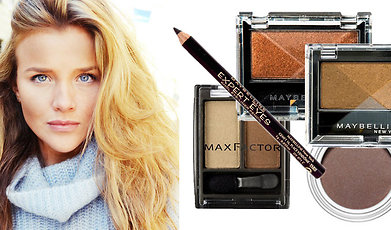 Trend, Skonhet, Blå, Makeup, ögonfärg, Smink, ögon