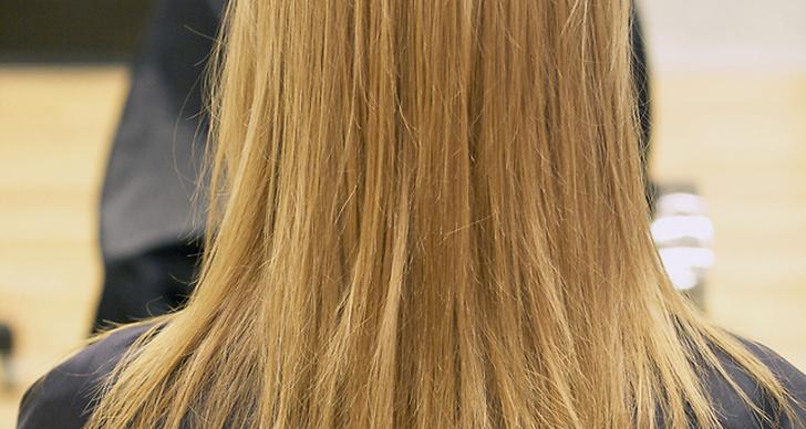 Först lades en toning för att få en lite varmare ton och en ny fräschör på det tidigare ganska höstgråa håret.