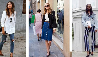 inspiration, Jeans, Trend, våren 2015, Denim, Shopping