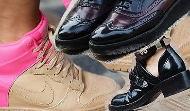 shoe, skor, Milano, Fashion Week, Paris