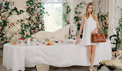 Tea Party, Mulberry, Cara Delevingne