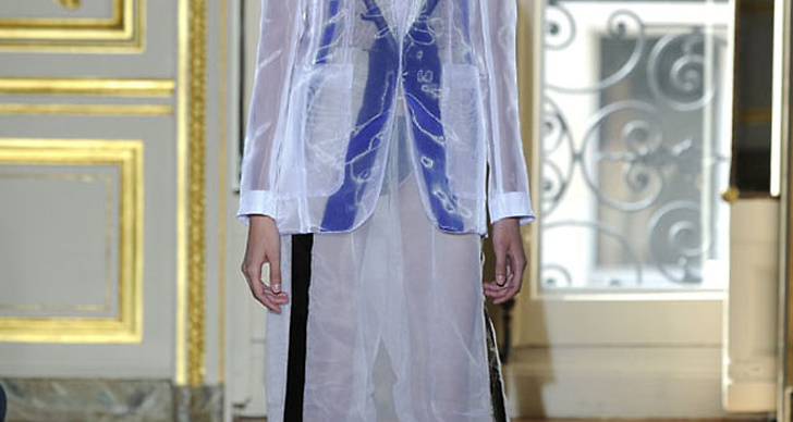 Maison Martin Margiela 2011 Couture Collection.