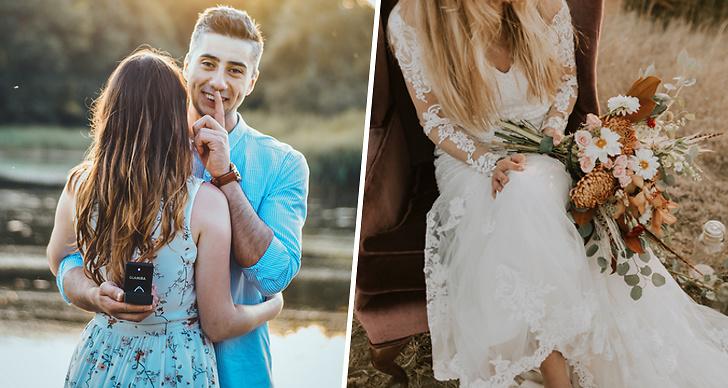 Förlovning, bröllop, giftermål