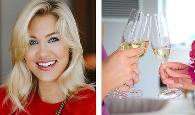 Champagne, Isabella Blondinbella Löwengrip