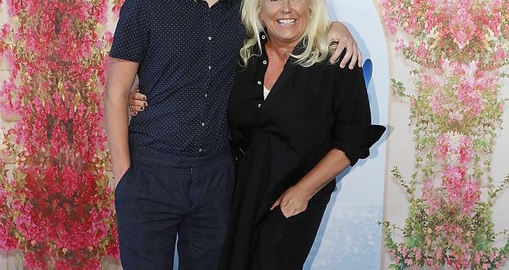 Phoenix och mamma Mia Parnevik.