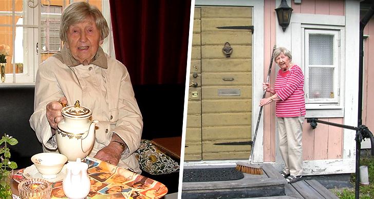 Dagny Carlsson, bloggare, 106 år, bor, ålder, kärlek