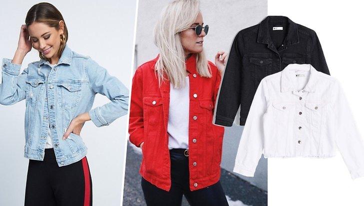 Jeansjackan – jackan att bära i sommar