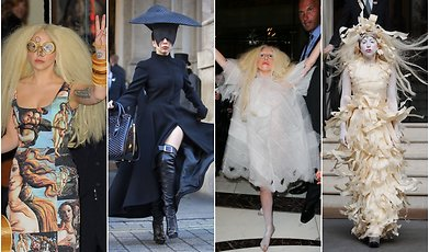 Outfit, Lady Gaga, Halloween