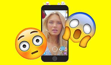 Snapchat, Screenshot