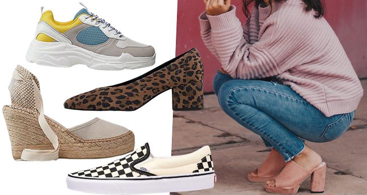 Trendiga sandaler 2019.