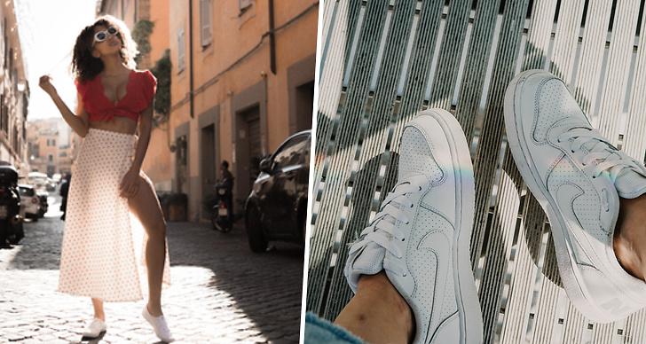 Svettlukt, sneakers, skor