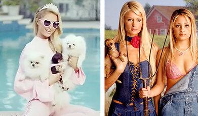 Frisyr, Paris Hilton