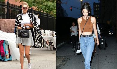 Outfit, Kendall Jenner, Gigi Hadid, Vardagslook