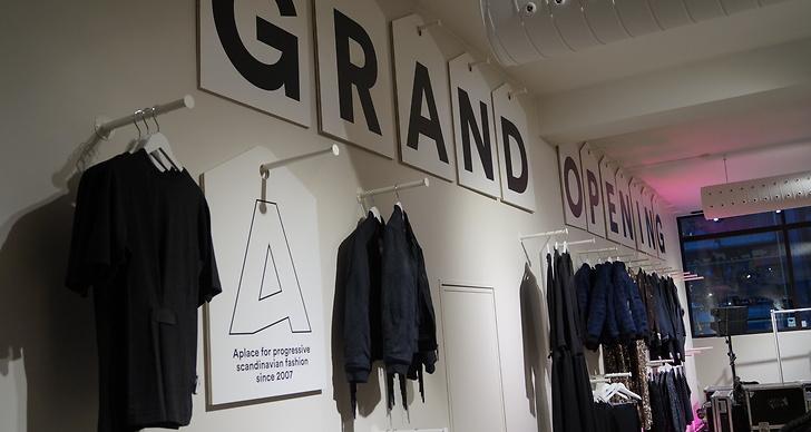 I butiken hittar du bland annat märken som Acne, Rodebjer och Dagmar.