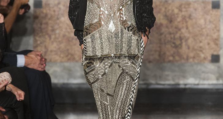 En favorit från Emilio Pucci, pärlbroderad byxdress