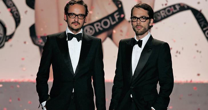 Viktor Horsting och Rolf Snoeren är skaparna av märket Viktor & Rolf.
